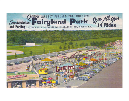 Queens' Fairyland Park Old Vintage Photos and Images