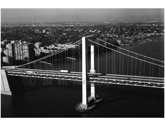 Queens Tower - Throgs Neck Bridge Old Vintage Photos and Images