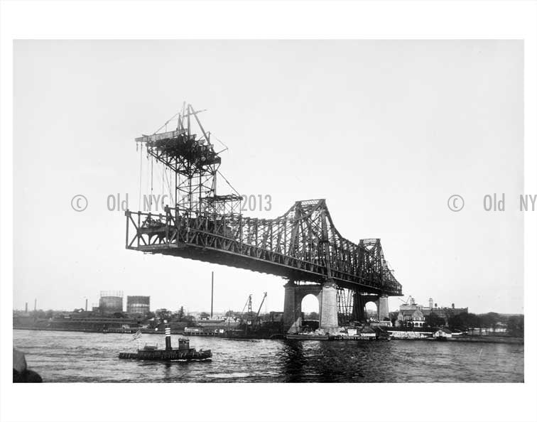 Queensboro Bridge Old Vintage Photos and Images
