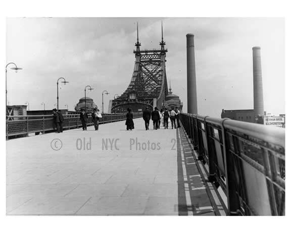 Queensboro Bridge 1910 Long Island City -  Queens, NY Old Vintage Photos and Images