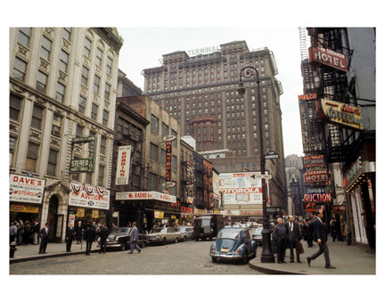 Radio Row Manhattan Old Vintage Photos and Images