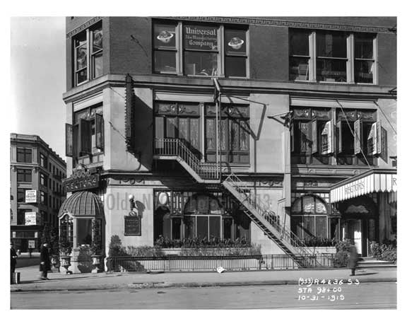 """Rectors Restaurant"" S.E. corner of Broadway & West 44th Street - Midtown Manhattan - 1915 Old Vintage Photos and Images"