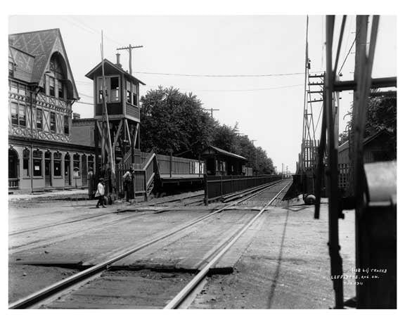 Richmond Hill LIRR  - Queens NY I Old Vintage Photos and Images