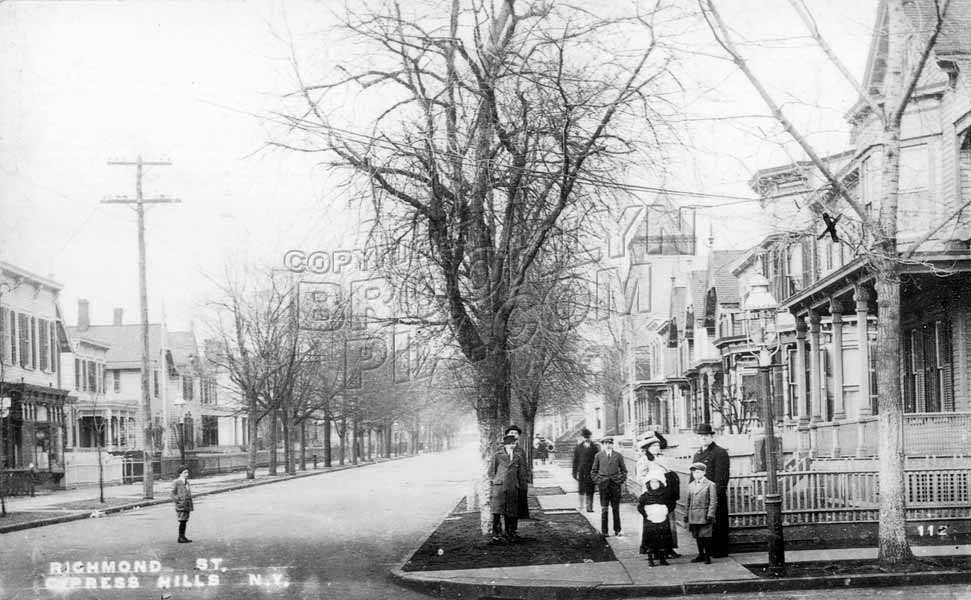 Richmond Street, south from Ridgewood Avenue, 1914 Old Vintage Photos and Images