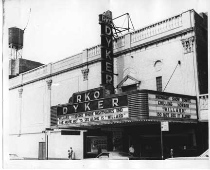RKO Dyker Theater Old Vintage Photos and Images