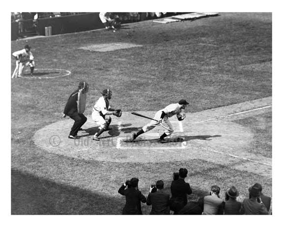 Robert Wolfe, Yankees first Pitch of 1936 Season