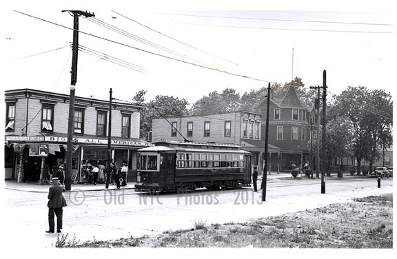 Rockaway Pky at Canarsie Landing 1939 Wilson Av Line Old Vintage Photos and Images
