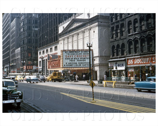 Roosevelt Theater Chicago, IL 1955 Old Vintage Photos and Images