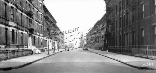 Ryerson Street north from Lafayette Avenue, 1931 Old Vintage Photos and Images