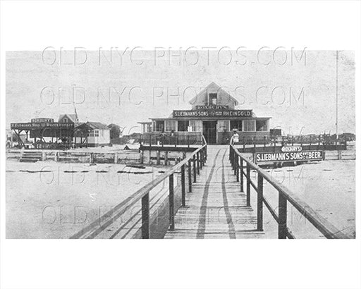 S. Liebmann's Sons Beer Roxbury Hotel Breezy Point Rockaway Point LI 1915 Old Vintage Photos and Images