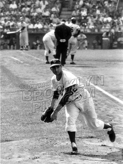 Sandy Koufax warming up, 1957 Old Vintage Photos and Images