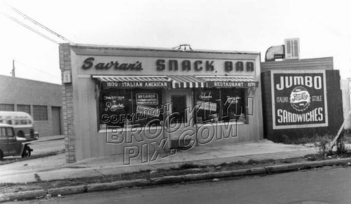 Savran's Coffee Shop, Rockaway and Ditmas Avenues, 1950 Old Vintage Photos and Images