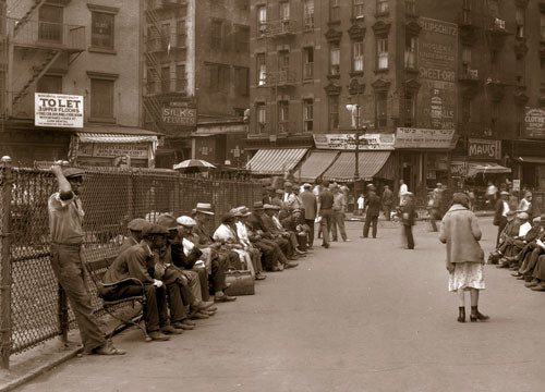 Seward Park- Hester & Essex Sts. Manhattan 1930 Old Vintage Photos and Images