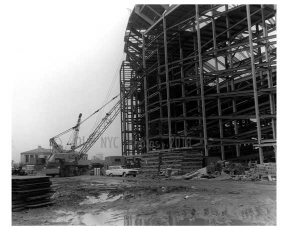 Shea Stadium under construction - Queens NY