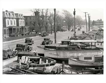 Sheepshead Bay Boats 2 Brooklyn NY Old Vintage Photos and Images