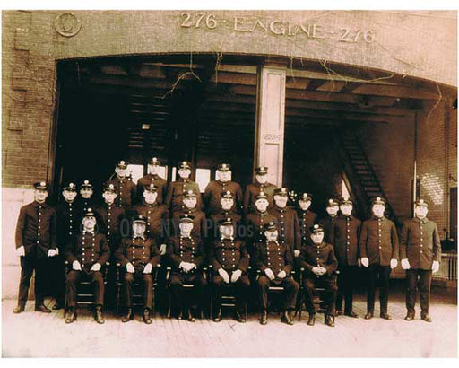 Sheepshead Bay - Engine 276 Old Vintage Photos and Images