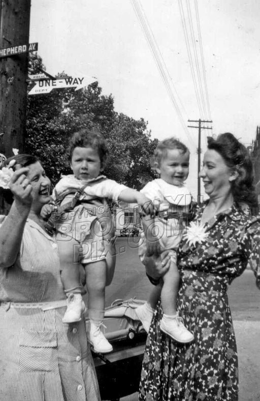 Shepherd Avenue during the Baby Boom Old Vintage Photos and Images