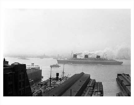 Ship Normandie Old Vintage Photos and Images