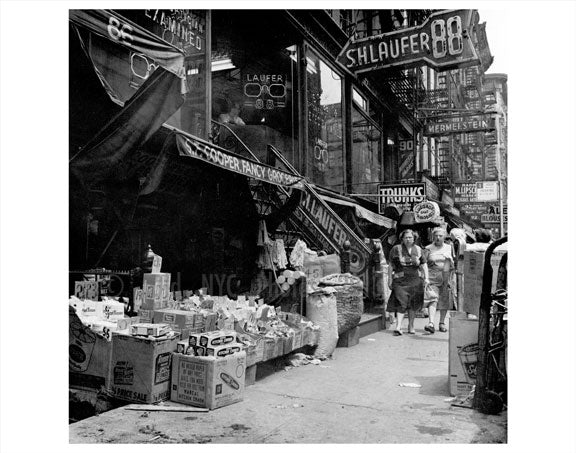 Shops in Lower East Side Manhattan  Old Vintage Photos and Images