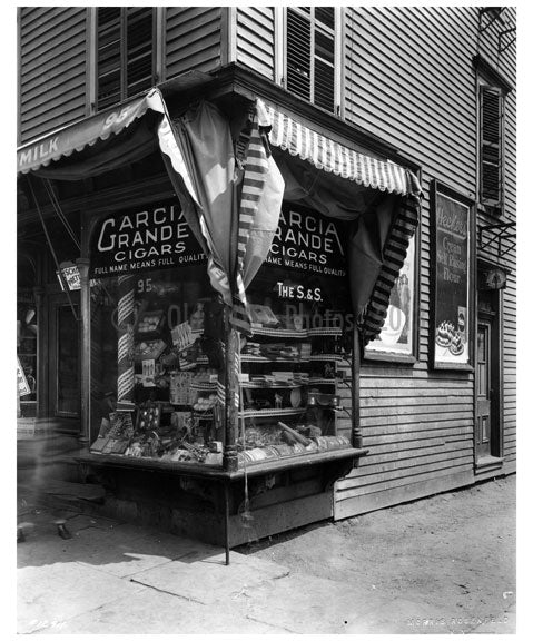 Shops nearby the Brooklyn Navy Yard Old Vintage Photos and Images