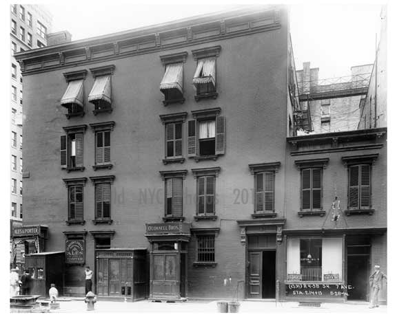 Shops on 7th Avenue - Midtown - Manhattan  1914 Old Vintage Photos and Images