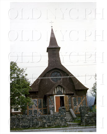 Sitka Alaska Church 1955 Old Vintage Photos and Images