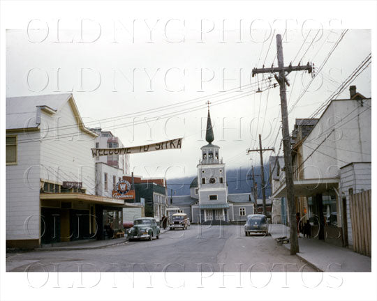 Sitka Alaska Russian Church 1955 Old Vintage Photos and Images