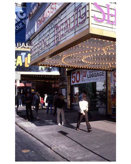 """Sleeping Beauty""  at the Embassy Theater - Theater District 1970s Manhattan I Old Vintage Photos and Images"