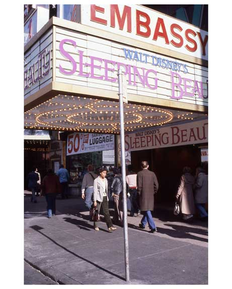 """Sleeping Beauty""  at the Embassy Theater - Theater District 1970s Manhattan II Old Vintage Photos and Images"