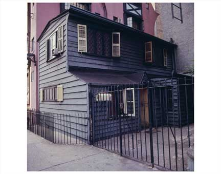 Small Black House Greenwich Village Old Vintage Photos and Images