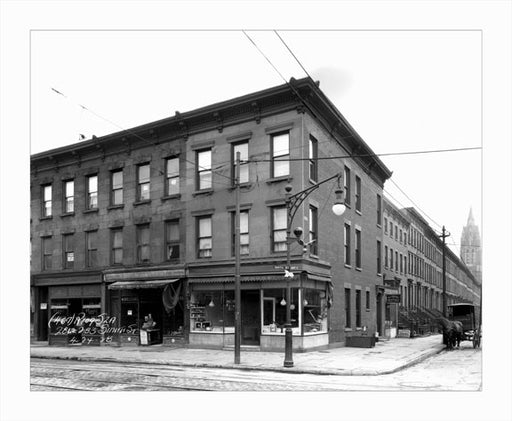 Smith & Sackett Street 1928 Old Vintage Photos and Images