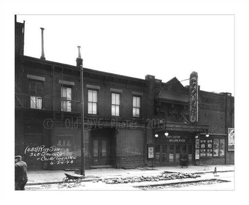 Smith Street & Court Theater 1928 Old Vintage Photos and Images