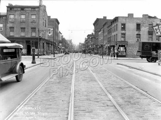 Smith Street north to Douglass Street, 1928 Old Vintage Photos and Images