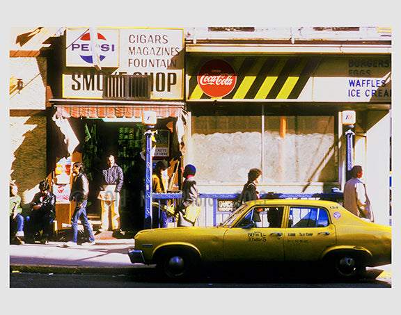 Smoke shop 1970s Long Island City  - Queens NY Old Vintage Photos and Images