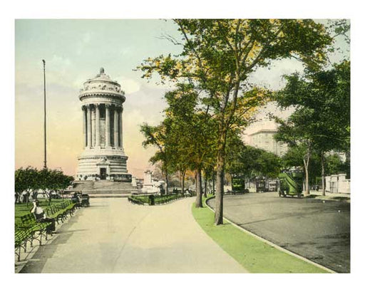 Soliders & Sailors Monument - Riverside Drive - Upper West Side   - New York, NY Old Vintage Photos and Images