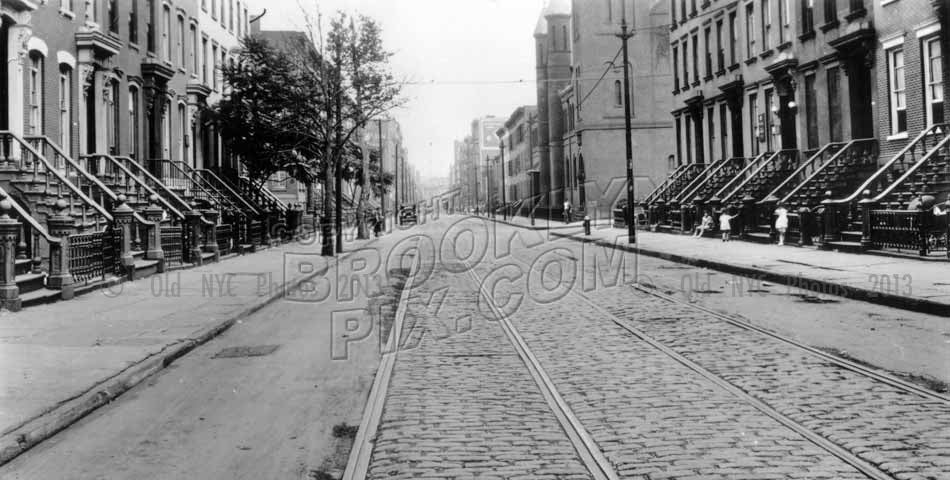 South 5th Street looking east to Rodney Street and St. Paul's Church, 1923 Old Vintage Photos and Images