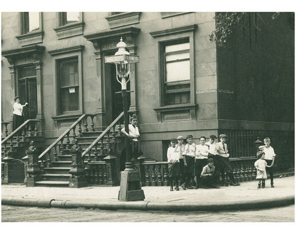 Southwest corner of Lexington Avenue & East 118th Street, Harlem 1912 Old Vintage Photos and Images