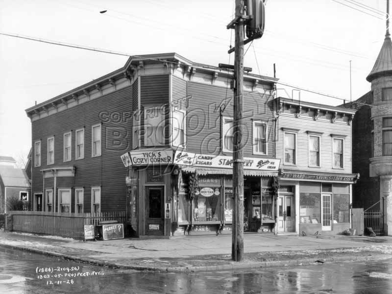Southwest corner of Prospect and Greenwood Avenues, 1928 Old Vintage Photos and Images