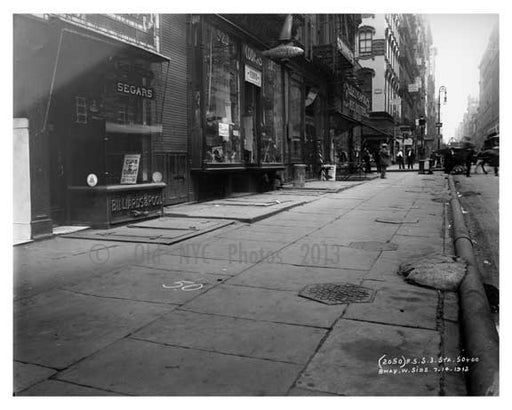 Spring Street & Broadway  1912 - Soho Downtown Manhattan NYC C Old Vintage Photos and Images
