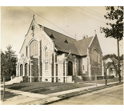 St. Dennis Church - Yonkers, NY Old Vintage Photos and Images