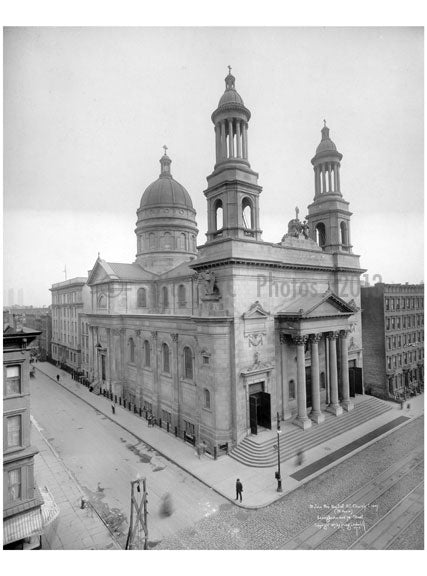 St. John the Baptist R.C. Church - Lexington & 76th Street. - Upper East Side - Manhattan - New York, NY Old Vintage Photos and Images