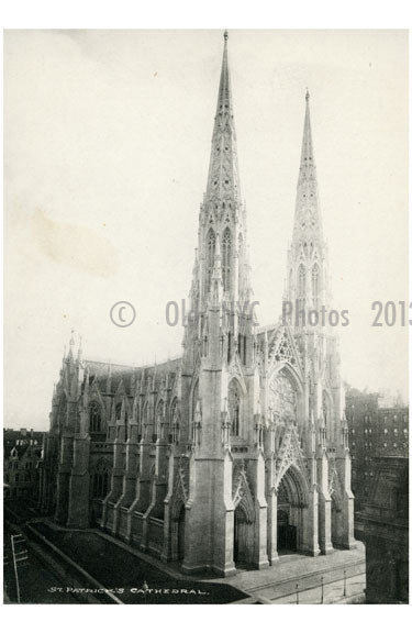 St. Patricks Cathedral Old Vintage Photos and Images