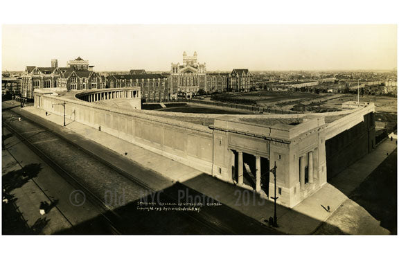 Stadium of City College of New York 1915 Harlem NY Old Vintage Photos and Images