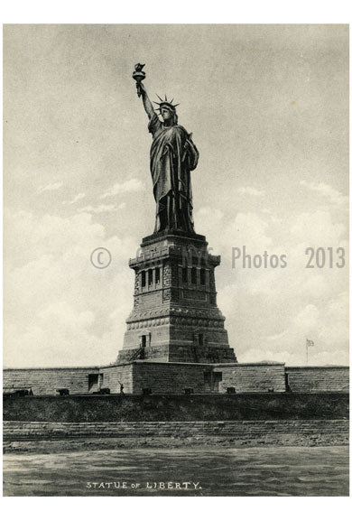 Statue of Liberty Old Vintage Photos and Images