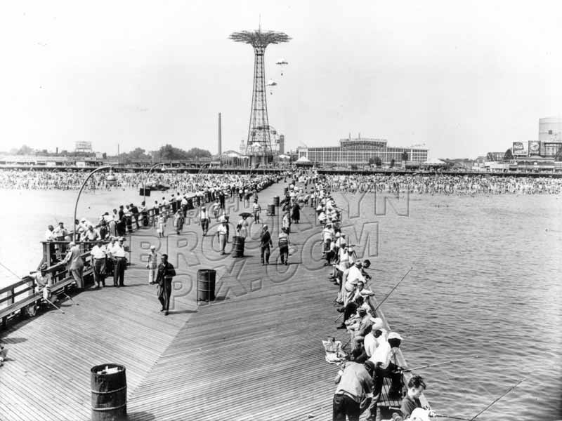 Steeplechase Pier, 1950s Old Vintage Photos and Images