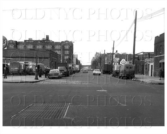Stone Ave looking north facing Lott Avenue Brownsville PS 184 at Newport Ave 1965 Old Vintage Photos and Images
