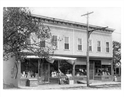 Storefront Long Island Old Vintage Photos and Images