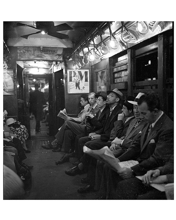 NYC Subway Car 1950s