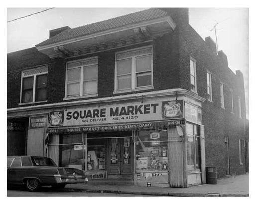 Supermarket - Glendale -  Queens NY Old Vintage Photos and Images
