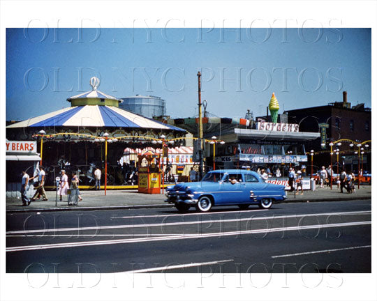 Surf Avenue Coney Island 1960 Old Vintage Photos and Images